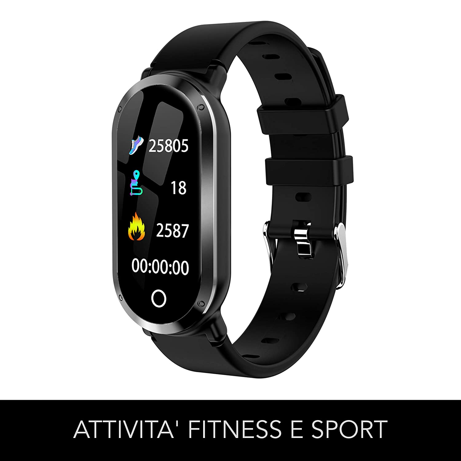 FITWATCH - Smartwatch compatible Iphone Android Samsung ...