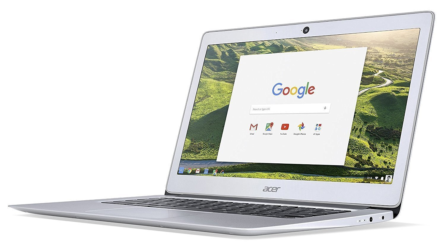 2018 Acer 14'' FHD IPS Display Premium Flagship Business Chromebook-Intel Celeron Quad-Core Processor Up to 2.24Ghz, 4GB RAM, 32GB SSD, HDMI, WiFi, Bluetooth Chrome OS-(Certified Refurbished)