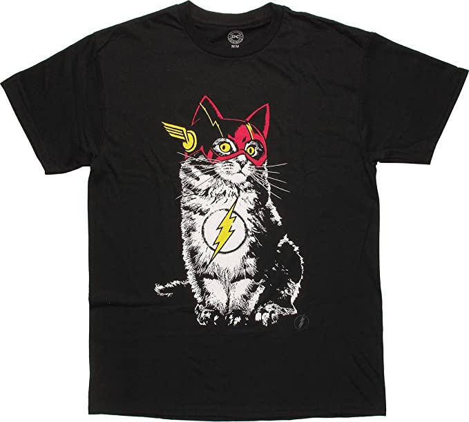Amazon.com: Flash Disfraz De Gato En playera, 3XL, Negro ...