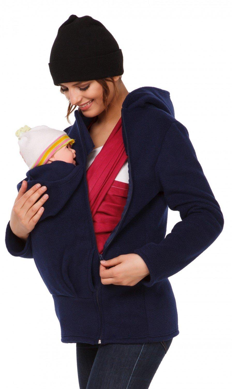 Happy Mama. Para mujer sudadera capucha top portador de bebé forro polar. 031p carrierhood_031