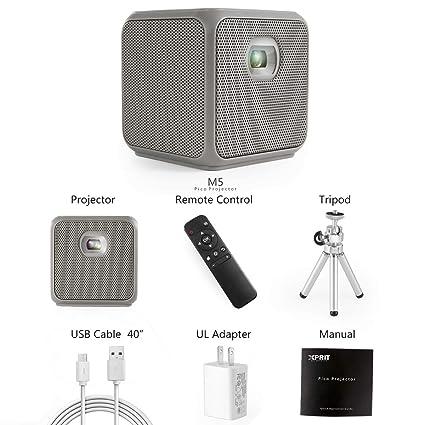Amazon.com: XPRIT Proyector portátil inteligente para ...