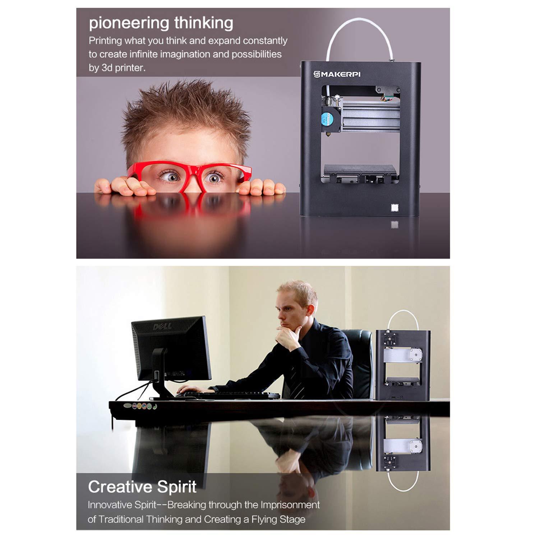 Leader-cloth MakerPi M1 Mini impresora 3D de mesa totalmente ...