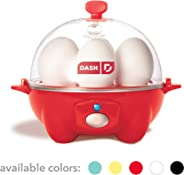 Dash Rapid Egg Cooker: 6 Egg Capacity Electric Egg Cooker for Hard Boiled Eggs, Poached Eggs, Scrambled Eggs, or Omelets wit