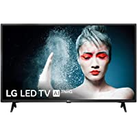 """LG 43LM6300PLA - Smart TV Full HD de 108 cm (43"""") con Inteligencia Artificial, Procesador Quad Core, HDR y Sonido Virtual Surround Plus, Color Negro"""