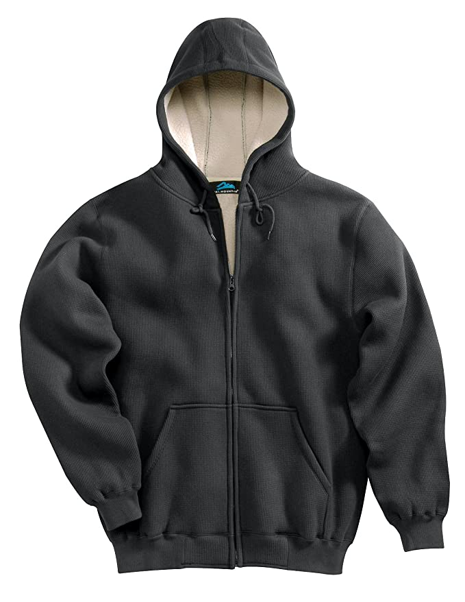 Tri-Mountain Thermal Full-Zip Hooded Fleece w/Warmth Lining - 697 Marshall