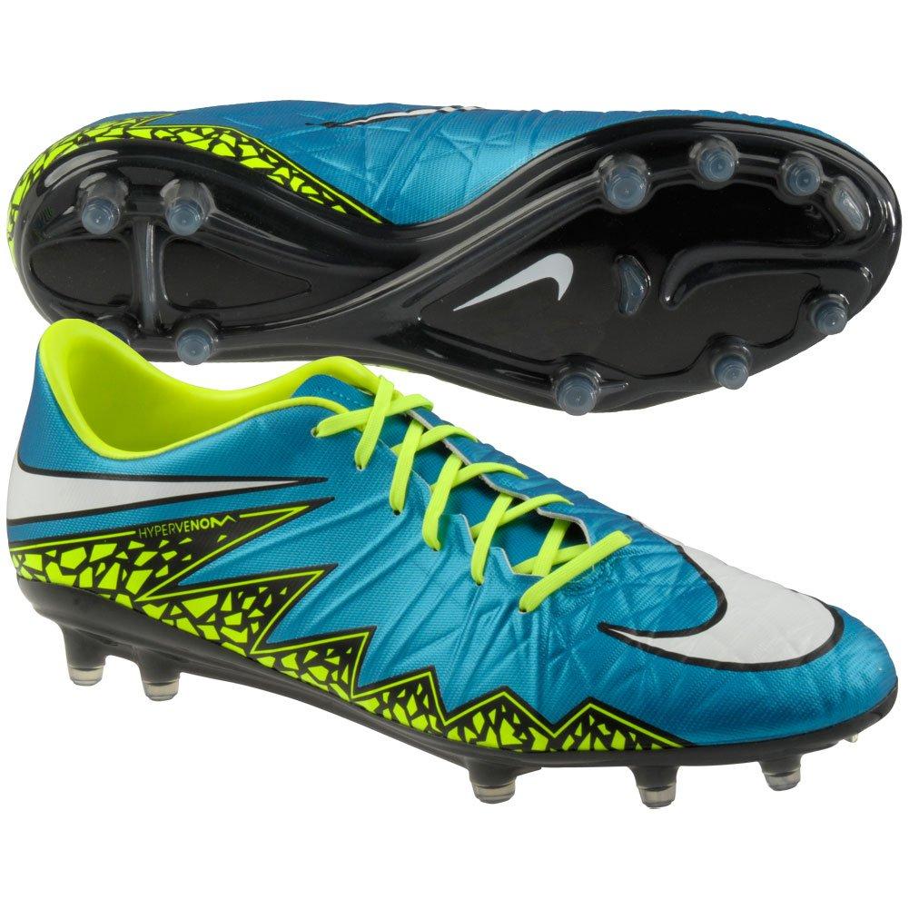 ffa3738127817 Galleon - Nike Women's Hypervenom Phatal II FG Soccer Cleat (6.5, Blue  Lagoon/White-Volt-Black)