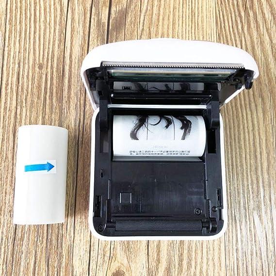 UIYU Lot de 2 Rouleaux de Papier Photo Autocollant translucide pour Impression de Film Ultra Transparent