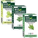 Indus Valley Combo Of Organic Amla Powder, Bhringraj Powder & Brahmi Powder- 100 Grams Each (Pack Of 3)