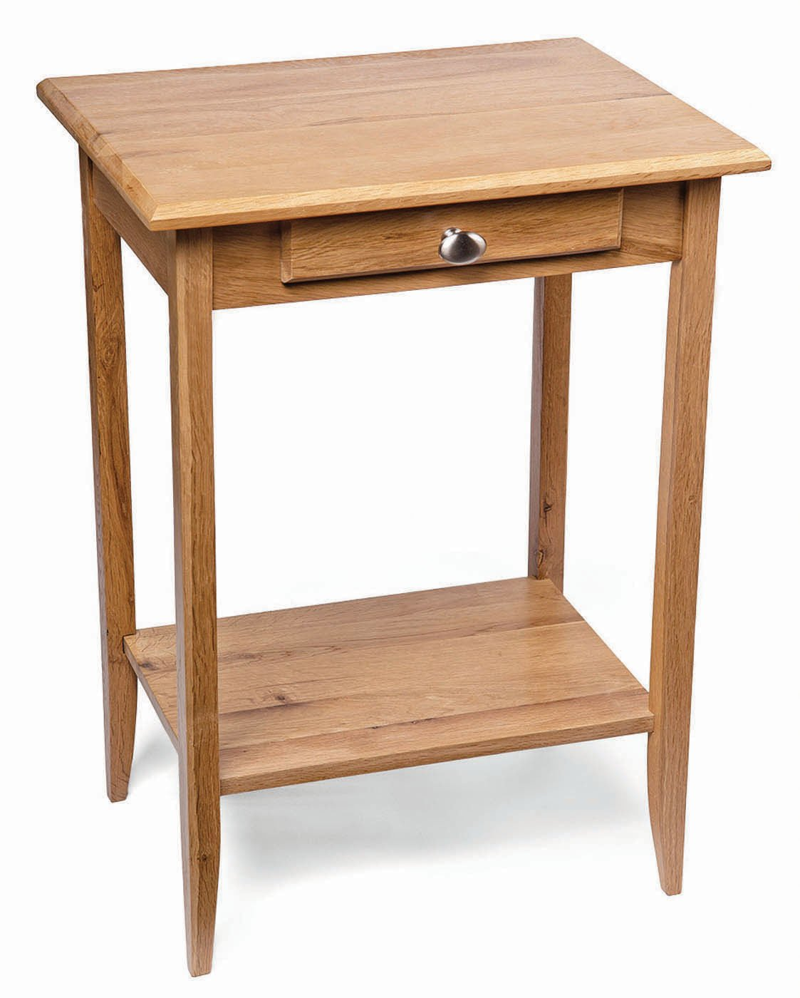 Waverly oak small console table in light oak finish solid wooden waverly oak small console table in light oak finish solid wooden telephone bedside lamp side end stand amazon kitchen home aloadofball Images