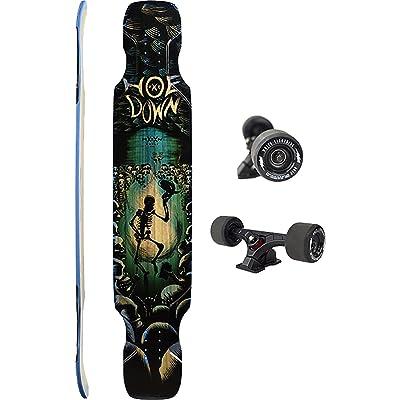 Moonshine MFG Hoedown Soft 2020 Complete Skateboard Longboard -9.5x48 : Sports & Outdoors