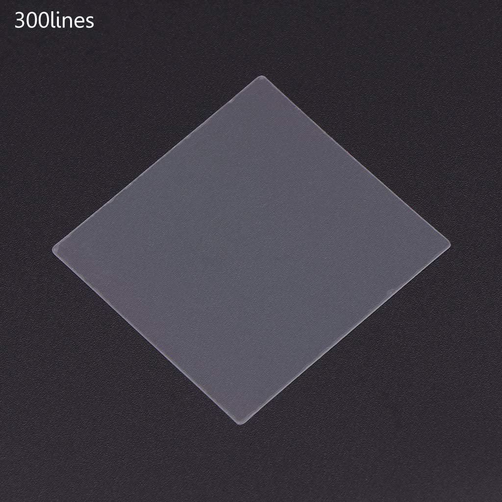 600 Lignes ZOOMY 36x38mm Nano Gravure Pet Trasmission Diffraction Grating Ultra Precision