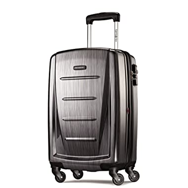 Samsonite Winfield 2 Fashion 20  Carry On Spinner Luggage in Charcoal