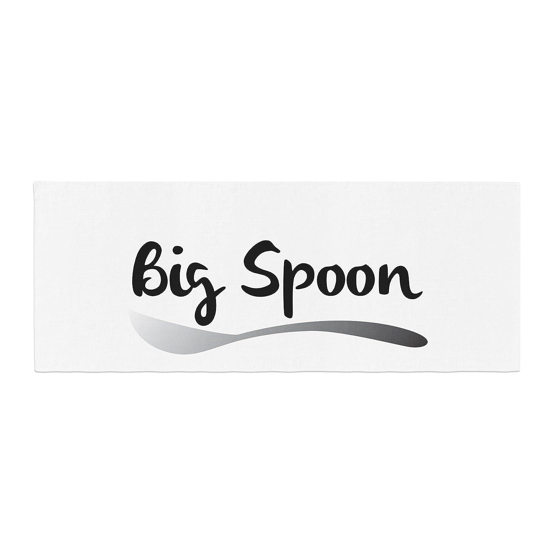 Kess InHouse Kess Original Big Spoon Couples Bed Runner KIH075ABR01