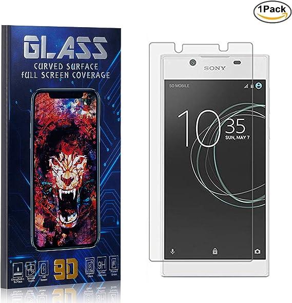 Sony Xperia L1 / E6 Protector Pantalla, HD Claro Cristal Templado, Vidrio Templado Protector para Sony Xperia L1 / E6, 9H Dureza/Alta Transparencia, 1 Piezas: Amazon.es: Bebé