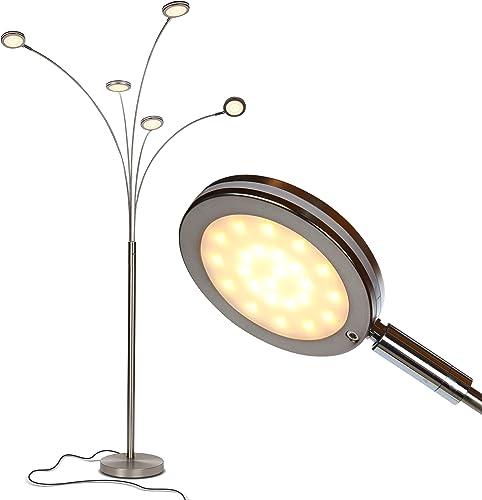 Brightech Orion 5 Modern Floor Lamp