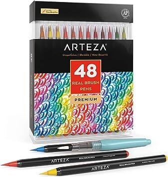 Refillable. Royal Aqua Flo Water Brush Set of 3 Artists Watercolour Brushes