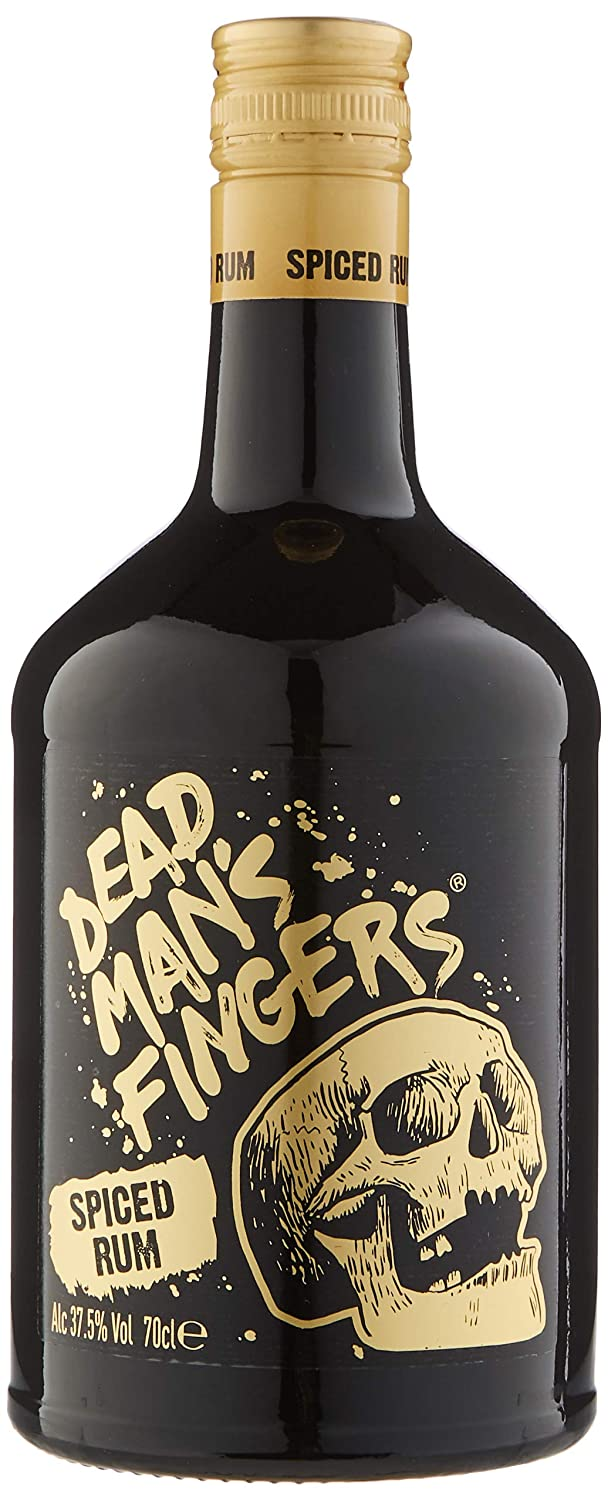 6cc9a5b96 Dead Man's Fingers Spiced Rum 70cl: Amazon.co.uk: Grocery