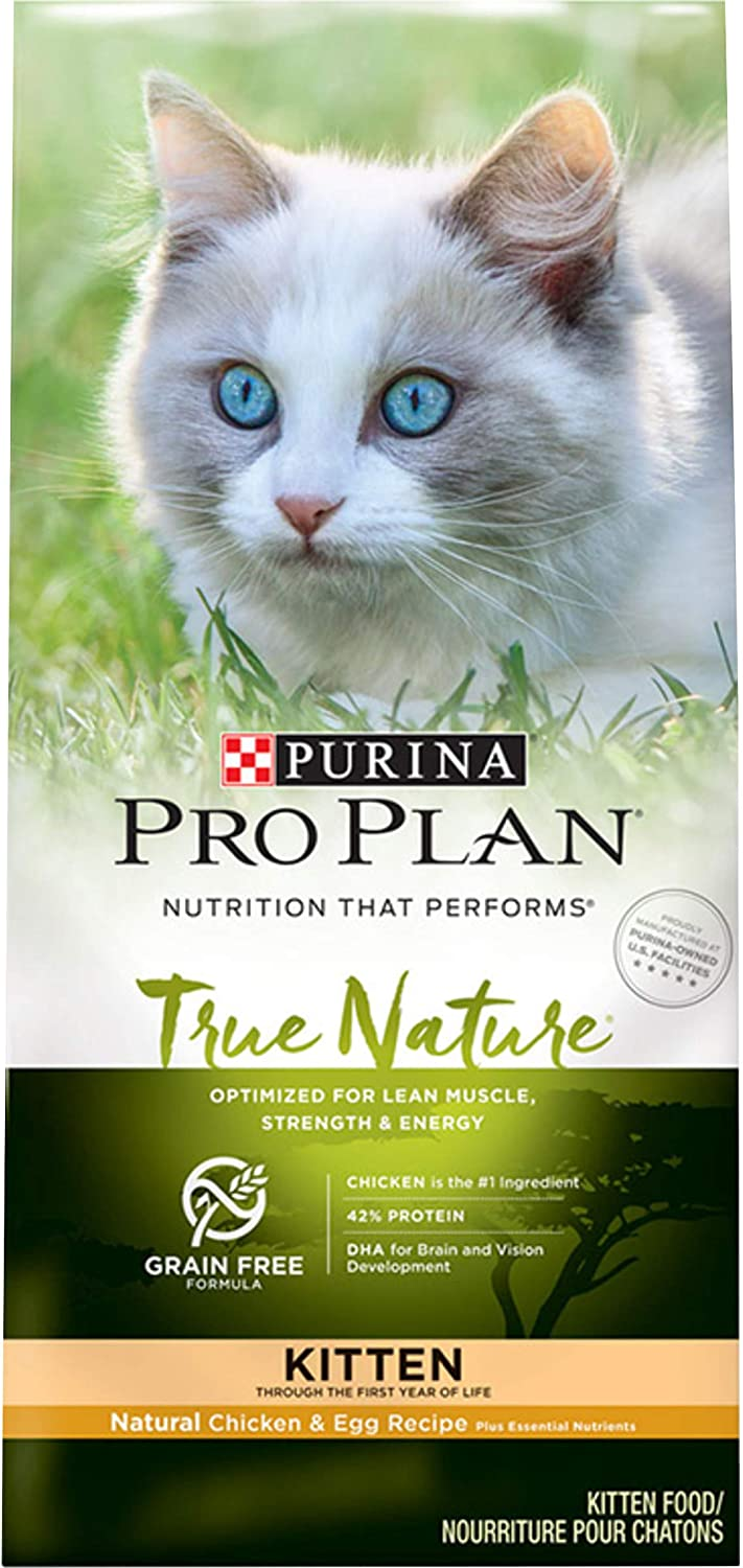 Purina Pro Plan Kitten Dry Cat Food (Packaging May Vary)