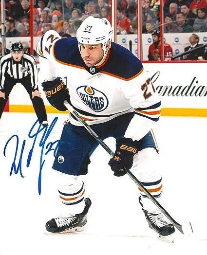 Image Unavailable. Image not available for. Color  Autographed Milan Lucic  Photo - 8X10 w COA C - Autographed NHL Photos bb2a55f5d