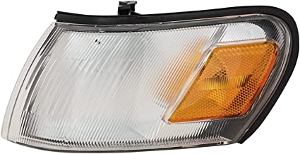 Side Marker Parking Turn Signal Corner Lights Pair Set for 93-97 Toyota Corolla
