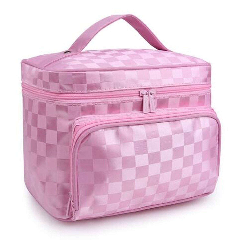 279fe13e2742 Doris Batchelor Fashion Woman Cosmetic Bags Striped Pattern ...