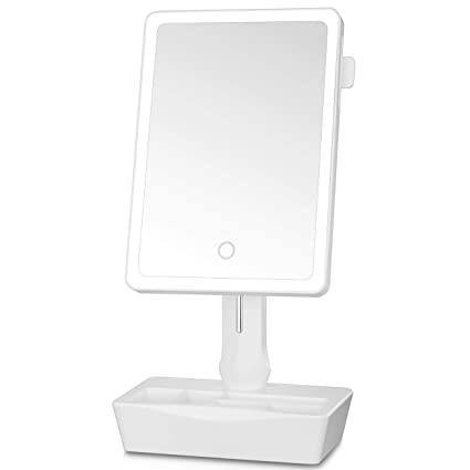 Amazoncom Gotofine Led Lighted Vanity Mirror Smart Touch Switch