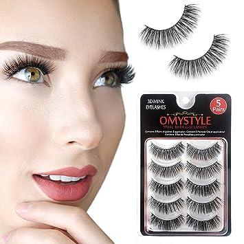 49c2eb690d3 3D Faux Fur Mink Eyelashes Natural Long Make up Messy Flirty Fake Lashes  Curly Lightweight False