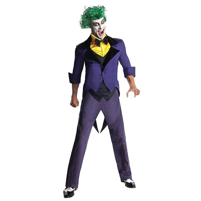 Joker Disfraz Batman Gotham City Most Wanted 2 Piezas DC ...