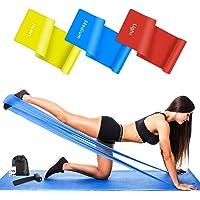 Wrei Fitnessbanden, 3-delige set, weerstandsbanden, gymnastiekband, fitnessband, theraband, weerstandsband, in 3…