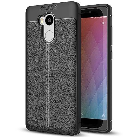 the latest b712a 691db Amazon.com: Xiaomi Redmi 4 Prime Case, Redmi 4 Prime Faux Leather ...