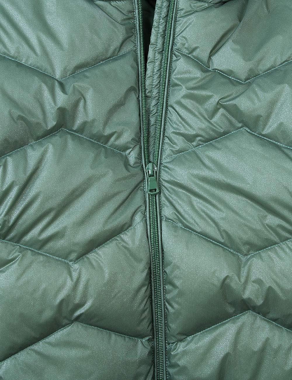 Spring/&Gege Kids Heavy Padded Water-Resistant Hooded Puffer Down Jacket