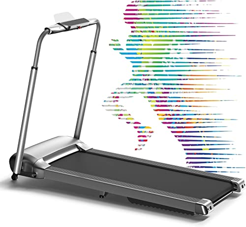 WEKEEP Folding Portable Treadmill Manual Compact Walking Running Machine Workout Electric Desk Treadmill