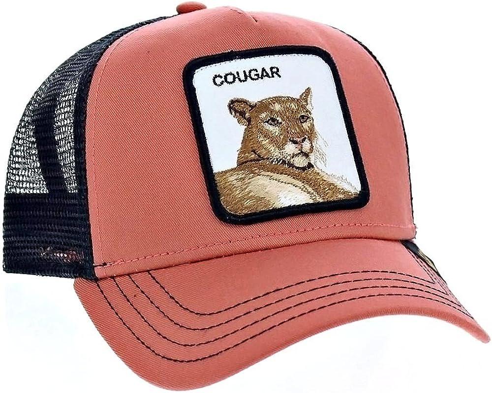 GORRA GOORIN- COUGAR TIGER - SALMON/NEGRA: Amazon.es: Ropa y ...