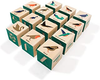 product image for Uncle Goose Bird Blocks - Made in The USA