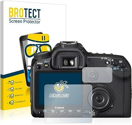 BROTECT Protector Pantalla Cristal Compatible con Canon EOS 40D ...