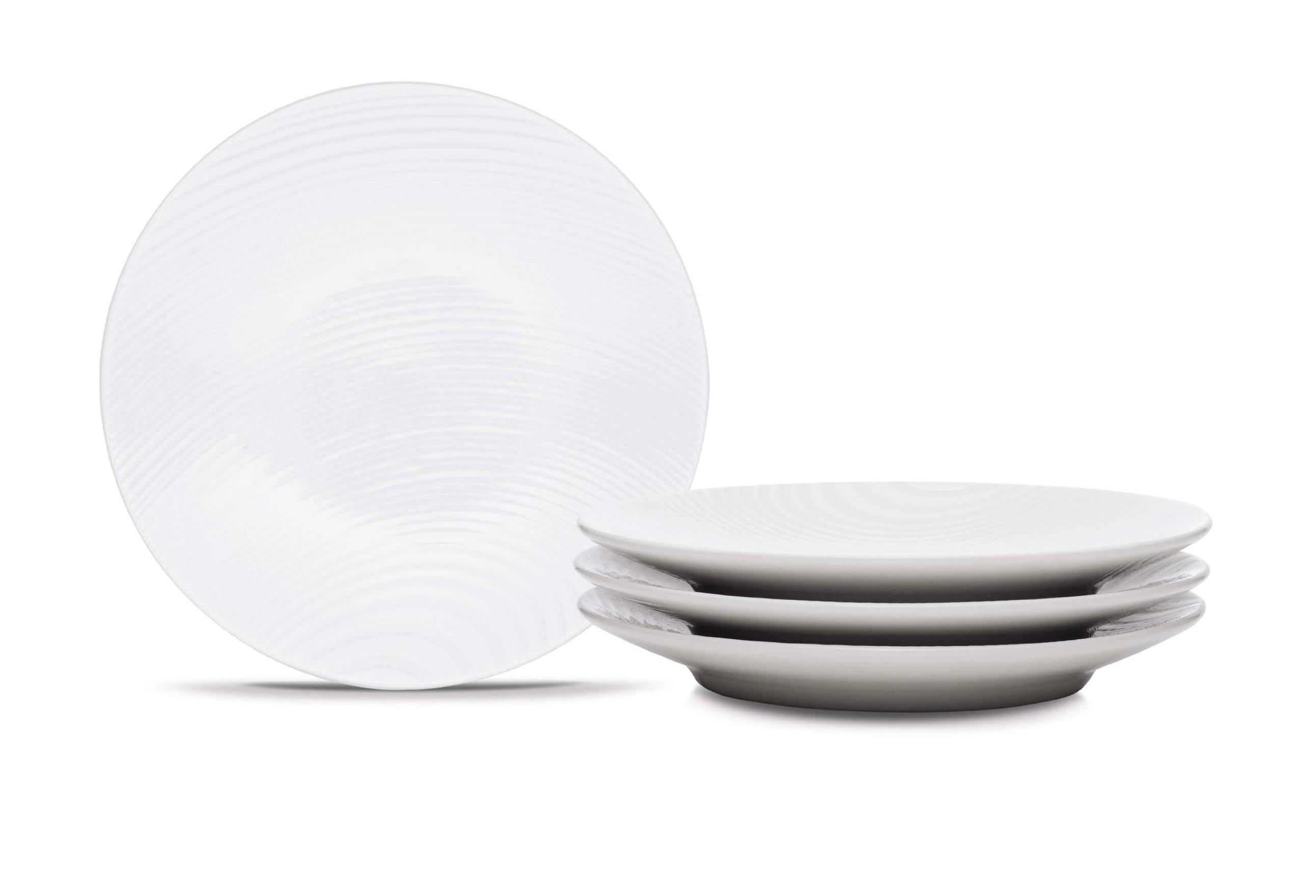 Noritake WOW Dune Appetizer Plates, 6-1/2-Inch, Set