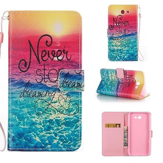 low priced 8d276 040a1 Galaxy J3 Emerge Wallet Case, J3 Prime Case, J3 Luna Pro Case, J3 2017  Case, J3 Mission Case, Samsung J3 Eclipse Case,Voanice PU Leather Flip ...