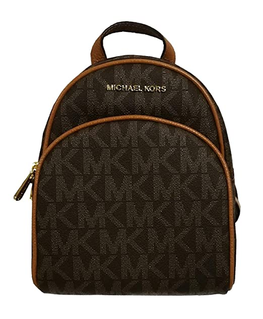Michael Kors Abbey XS Extra Small Back Pack Brown Acorn  Amazon.ca   Clothing   Accessories beef68a1c17ed