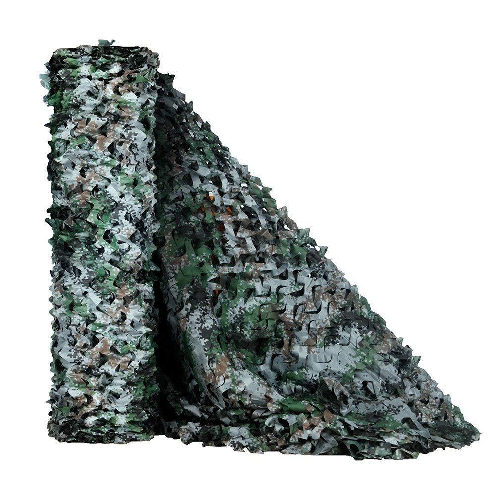 FEIFEI 砂漠迷彩ネット軍キャンプ軍事射撃日焼け止めネット日よけ軍事装飾日よけキャンプキャンプ射撃狩猟 (色 : 緑, サイズ さいず : 1.5x15m/4.9x49.2ft) 1.5x15m/4.9x49.2ft 緑 B07PWK84Y6