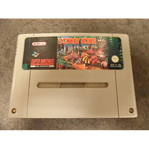 Donkey Kong Country Super Nintendo (SNES) PAL [video game] [video game]