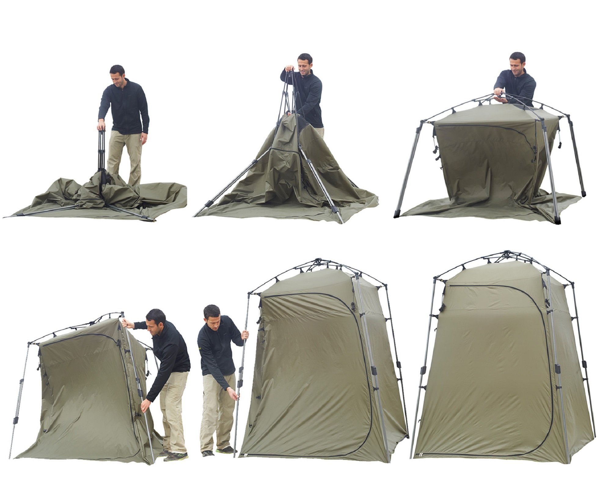 Lightspeed Outdoors Xtra Wide Quick Set Up Privacy Tent, Toilet, Camp Shower, Portable Changing Room by Lightspeed Outdoors (Image #2)