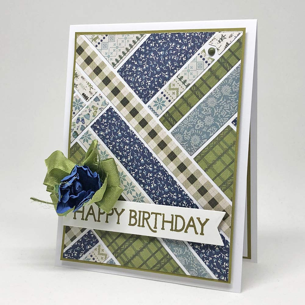 2-Pack Retirement 25 Pieces Stamp Simply Clear Stamps All Occasion Sentiments Birthday 4x6 Inch Sheets Holiday and More