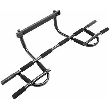 Barra de dominadas de Body Revolution, para montar en la puerta, resistente, para flexiones en barra de agarre múltiple: Amazon.es: Deportes y aire libre