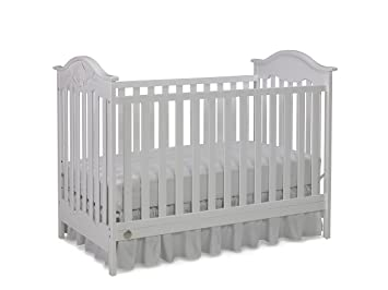 Amazon Com Fisher Price Charlotte Rose 3 In 1 Convertible Crib