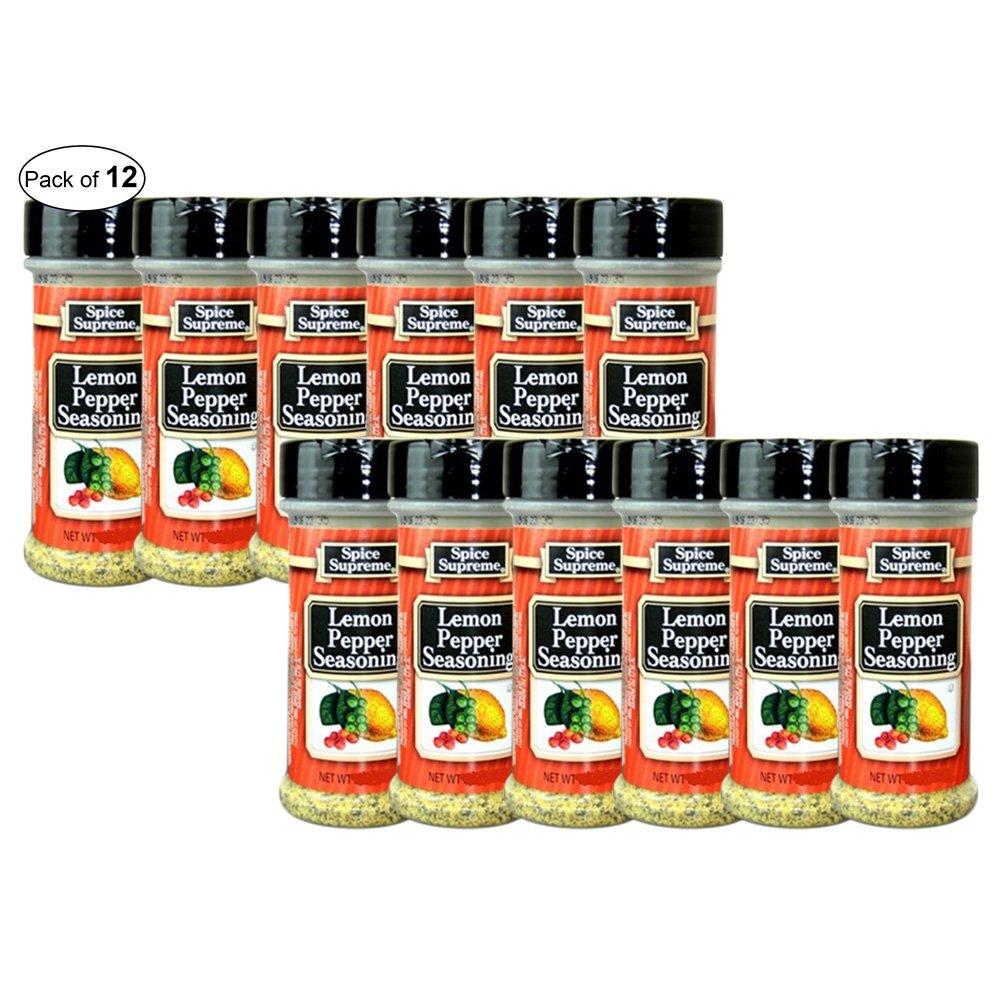 Spice Supreme Lemon Pepper 141g (Pack of 12)