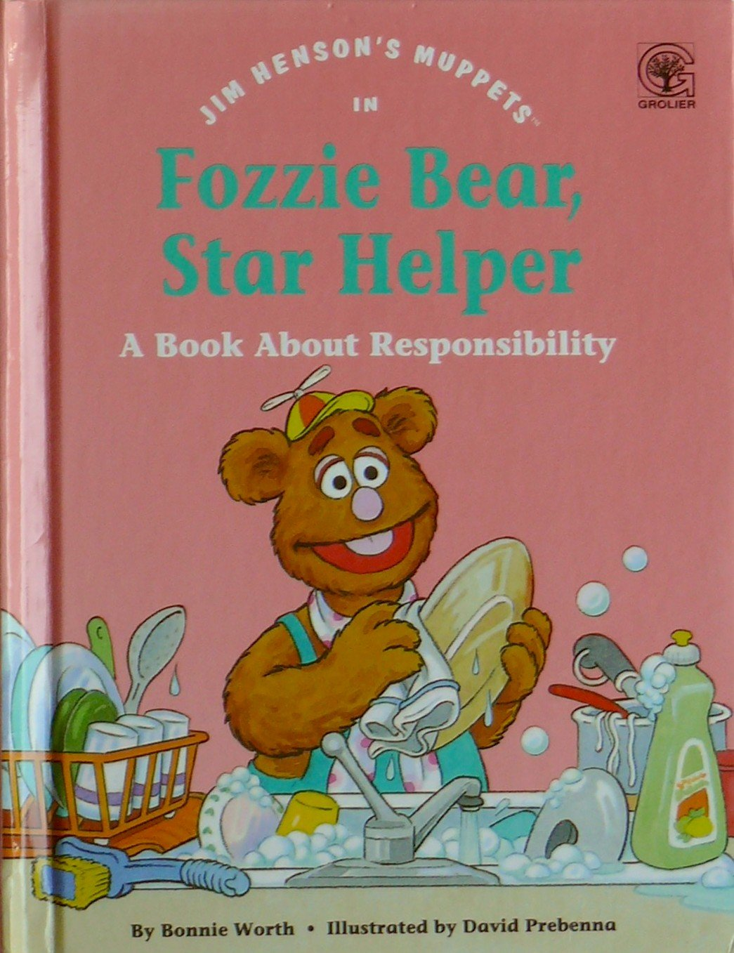 Download Jim Henson's Muppets in Fozzie Bear, Star Helper: A Book About Responsibility (Values to Grow On) ebook