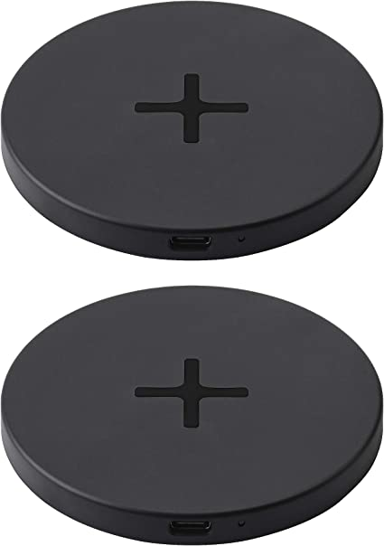 Ikea Livboj 904 652 45 Lot De 2 Chargeurs Sans Fil Qi Usb C Noir Amazon Fr Cuisine Maison