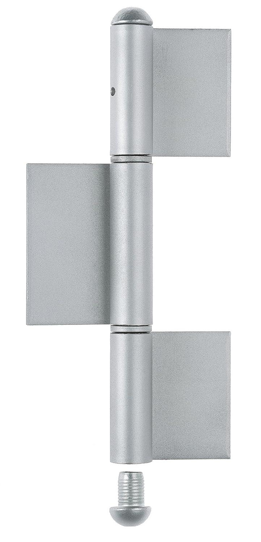 Stahl H/öhe: 260 mm Durchmesser: /Ø16 mm GAH-Alberts 414498 Konstruktionsband Typ KO8 roh