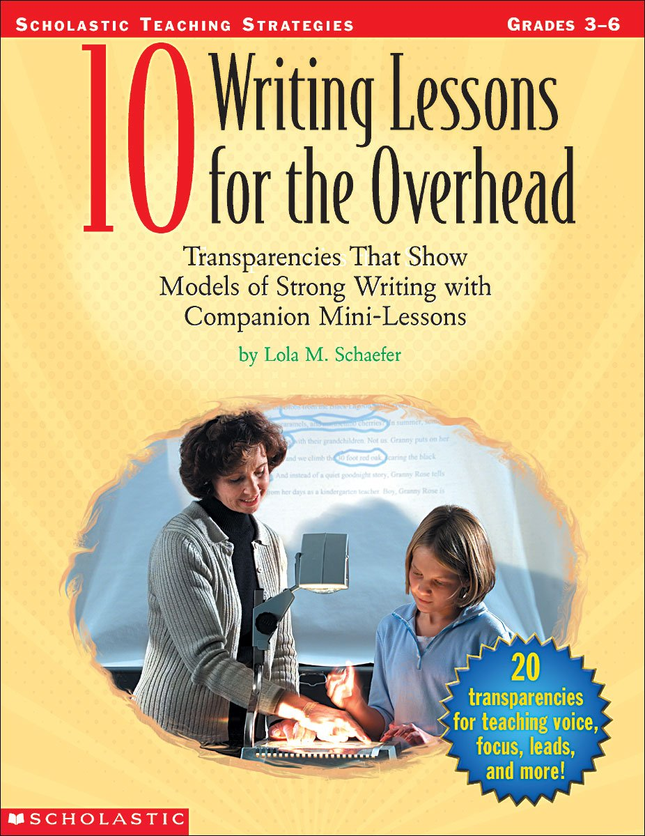 Read Online 10 Writing Lessons For The Overhead pdf epub