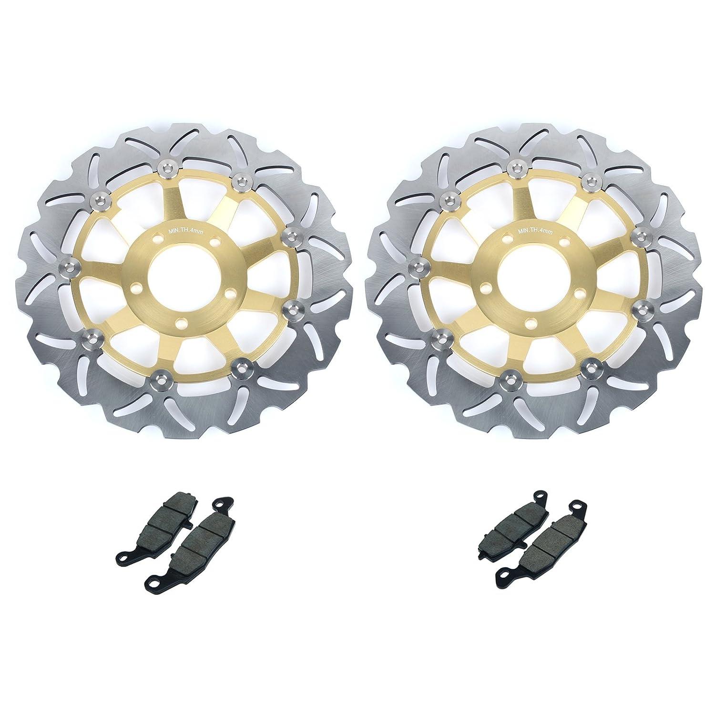 TARAZON 2 Disques de frein Avant et Plaquettes pr BANDIT GSF600 S SV650 S GSX600F GSX750F